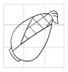 1串玉米简笔画图片_玉米图片_学习简笔画_少儿图库_中国儿童资源网